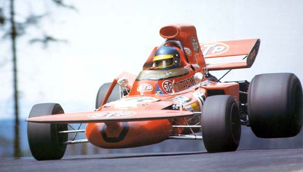 March 711- 1971 Ronnie Peterson. Foto: Clip the Apex. Selección: @omarketingf1