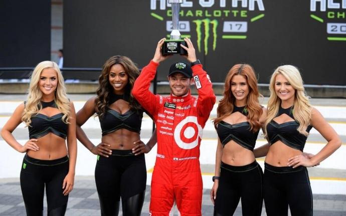 Grid Girls de la categoria NASCAR en EUA. Pinterest