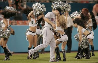 Porristas de las Grandes Ligas de Baisbol EUA. Pinterest