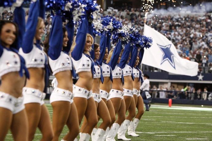 Porristas de los Vaqueros de Dallas. Futbol Americano Profesional. Pinterest