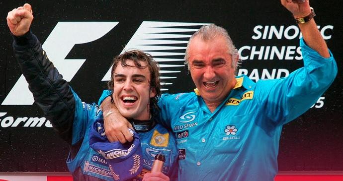 Flavio Briatore tiene esperanzas en Alonso y Renault para 2018