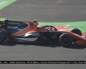pruebas del halo. McLaren-Honda 2017. Foto: @omarketingf1
