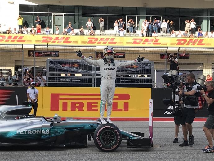 Lewis Hamilton - Mercedes (Pole Position) GP EUA - Circuito de las Américas 2017. Foto: Omar Álvarez - @omarketingf1