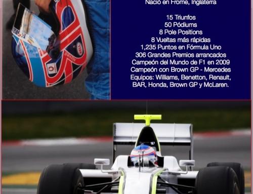 Un día como hoy en 1980 nació Jenson Button, Campeón del Mundo F1 en 2009.