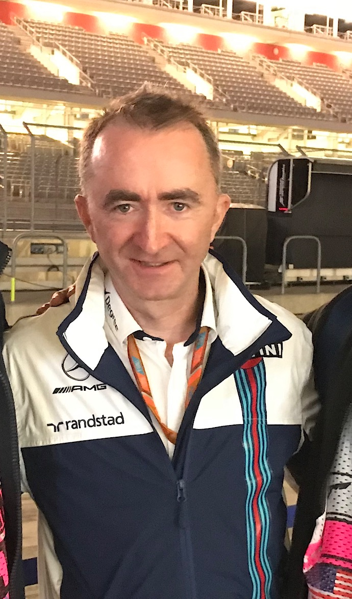 Paddy Lowe Director Técnico de Williams Foto: @omarketingf1