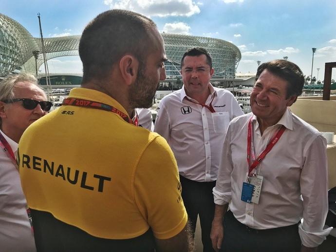 Renault se fija en el modelo de Mercedes para formar a sus pilotos jóvenes