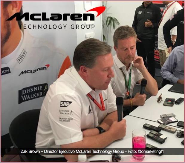 McLaren firma acuerdo multi-anual con CNBC. @omarketingf1