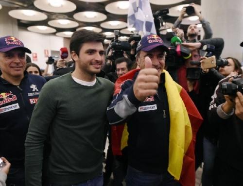 """Carlos Sainz al aterrizar: """"Estoy en un momento de reflexión"""""""