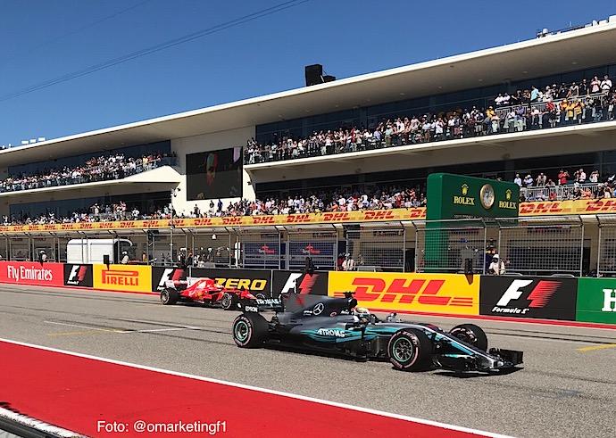 Undercut y Overcut en la F1. Foto: @omarketingf1