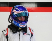 Alonso en los test de Portimao