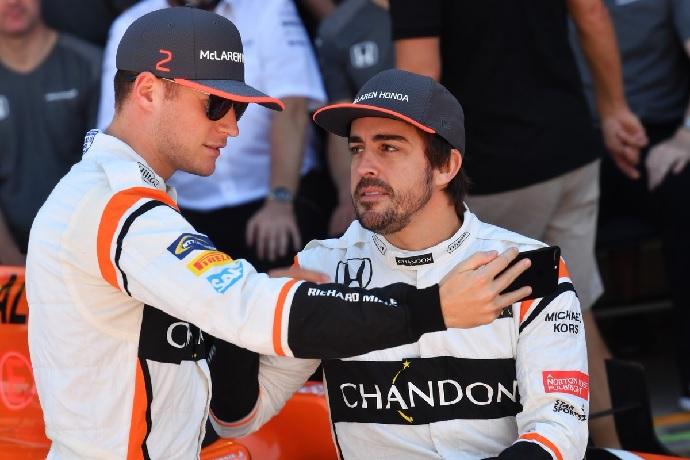Vandoorne y Alonso