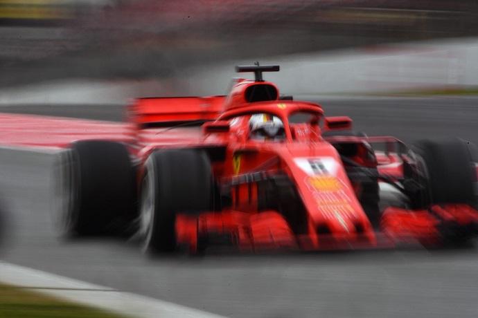 CRÓNICA: Vettel el más rápido y trabajador en el quinto día de test; pésimo día de McLaren con tres averías de Vandoorne