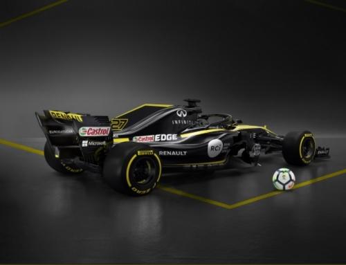 La Liga patrocinará a la Renault de Sainz y Hülkenberg