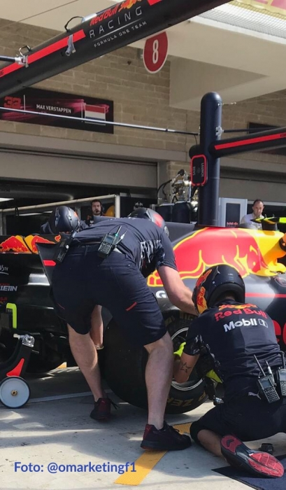 Pit Stop Red Bull - GP EU - Foto: @omarketingf1