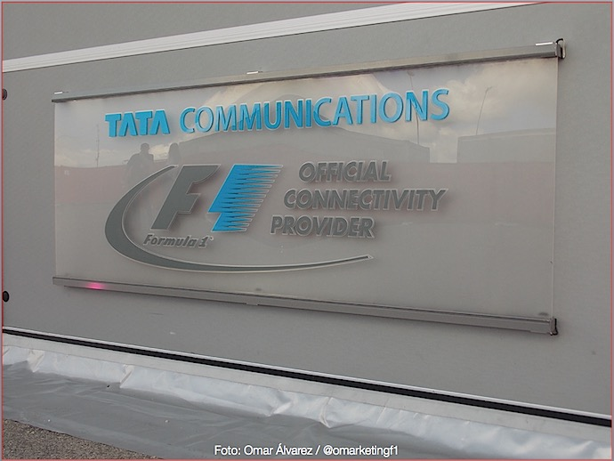 Tata Communications Official Connectivity Provider F1 @omarketingf1