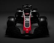 Haas publica una serie de renderizados sobre el VF-18