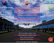 Arranca el mundial F1 Previo al Gran Premio de Australia 2018