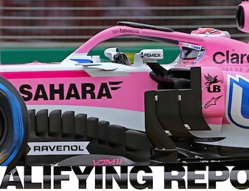 Aspiraciones rosas de Force India se desvanecen en calificación de Melbourne