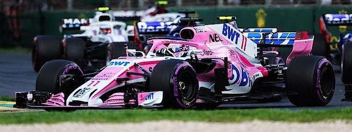 Checo Perez GP de Australia 2018