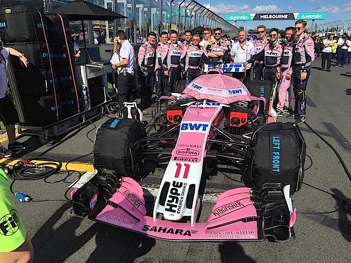 Cuando la vida ya no te pinta color de rosa en F1