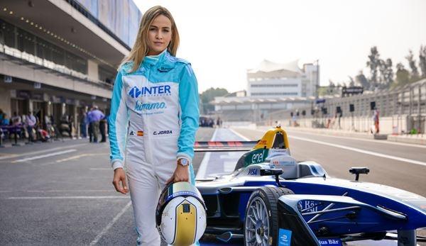 Carmen Jordá no ve en la Fórmula E las barreras físicas que tiene la F1