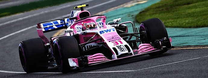 Esteban Ocon GP de Australia 2018