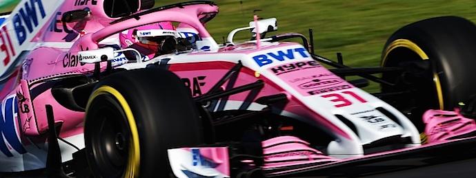 Force India el más rápido en trampa de velocidad en Montmeló Dia 6 de Pretemporada F1