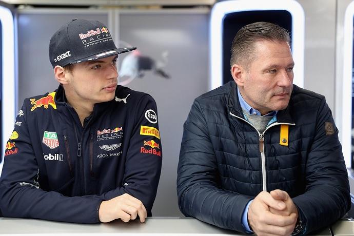 Jos Verstappen describe el talento de su hijo