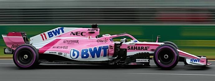 Sergio Pérez GP Australia 20180