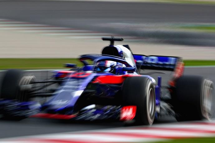 Tercer mejor registro en tiempo y vueltas para Toro Rosso