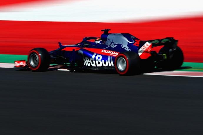 Toro Rosso completa una de sus mejores jornadas de pretemporada