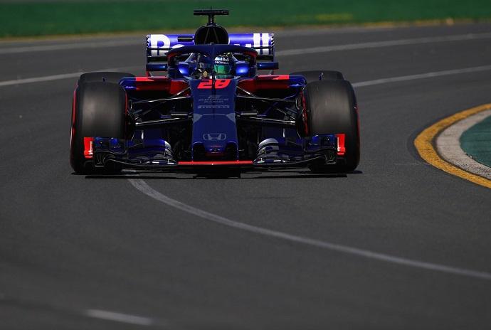 Toro Rosso continúa con Honda en el buen camino