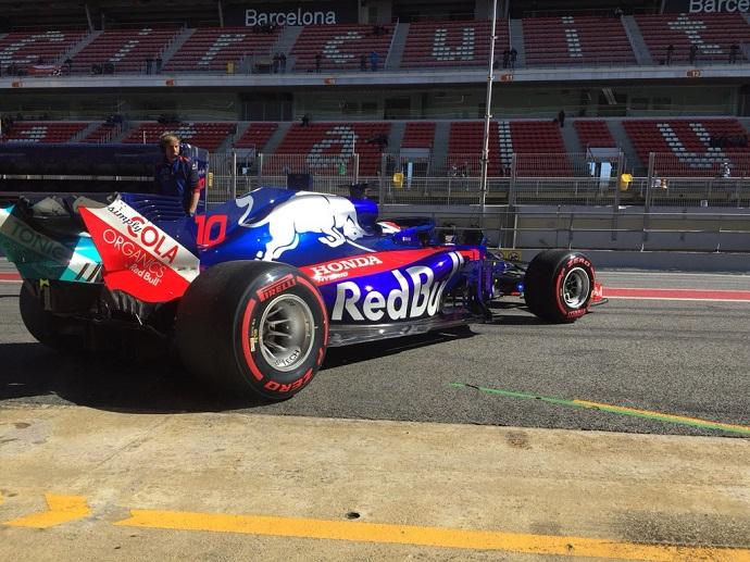 Toro Rosso no pudo exprimir el día debido a problemas en el sistema de frenos