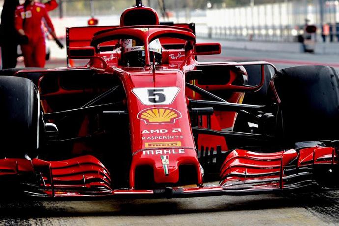 CRÓNICA: Vettel rompe el crono del Circuit, y al igual que Verstappen, realizan un simulacro de carrera con casi 190 vueltas