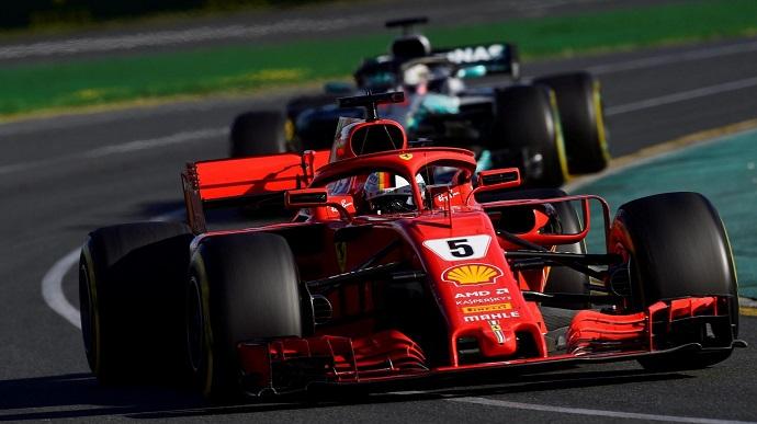 Ferrari contestó a Hamilton en Australia