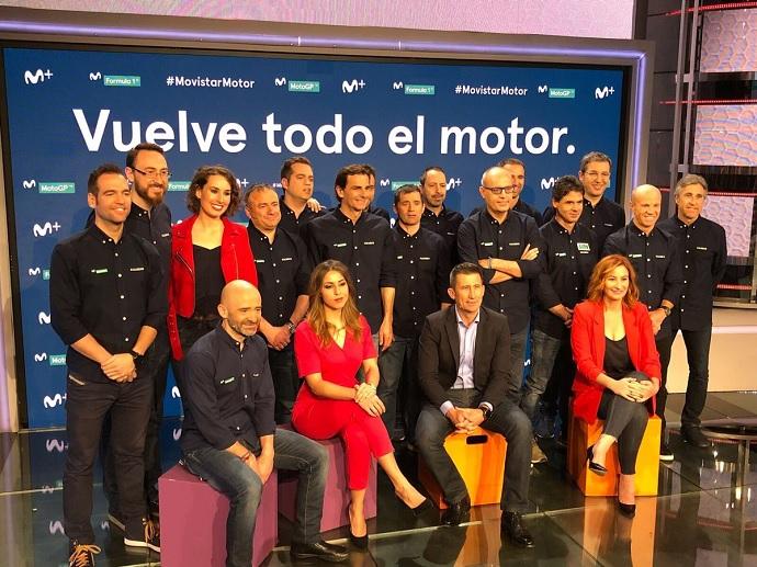 Movistar muestra su equipo para esta temporada