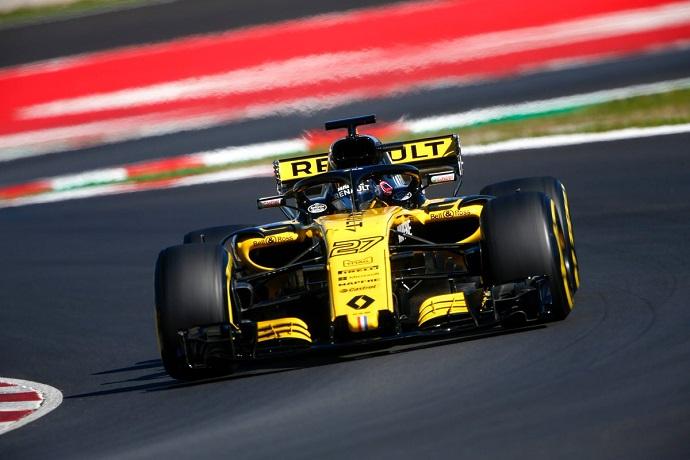 Renault comienza a experimentar con el rendimiento del RS18