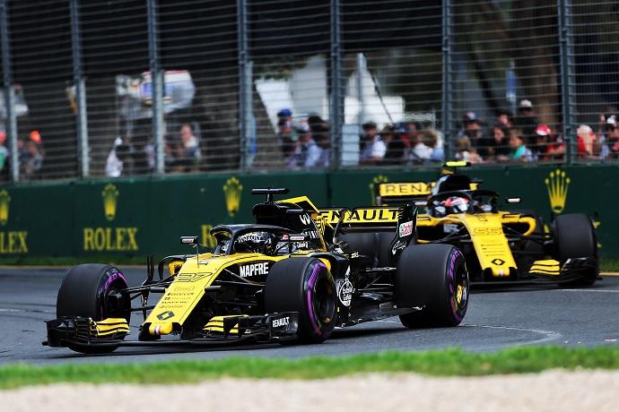 Renault resuelve satisfactoriamente el GP de Australia