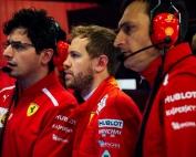 Sebastian Vettel resta importancia al ritmo de Mercedes y Red Bull