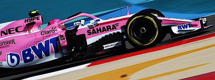 Esteban Ocon, unico piloto de Force India en lograr entrar en la lista del Top 10 en Bahréin 2018