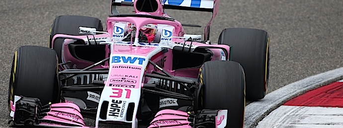 Checo da bocanada de aire rosa a Force India y arrancará P8 en el GP de China.