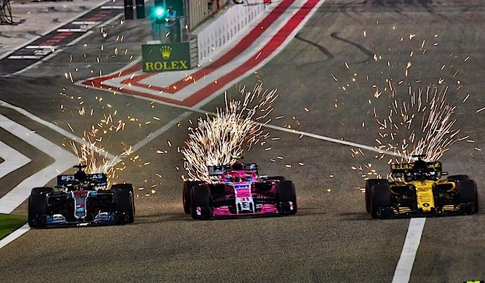 Force India pellizca el ultimo punto y salvca la honra rosa en Bahréin