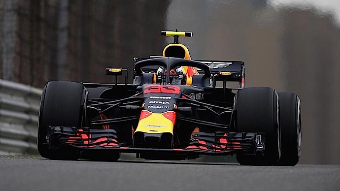 Inicia Red Bull con fuertes toros en territorio de dragones en ensayos del GP de China