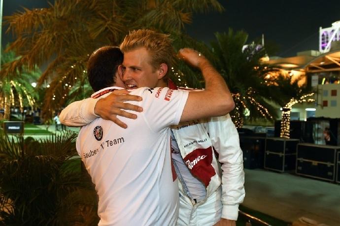 MArcus Ericsson y Alfa Romeo vuelven a la zona de puntos