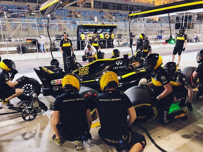 Renault comprueba sus mejoras para Baréin