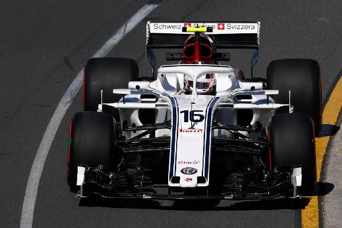 Leclerc en Australia