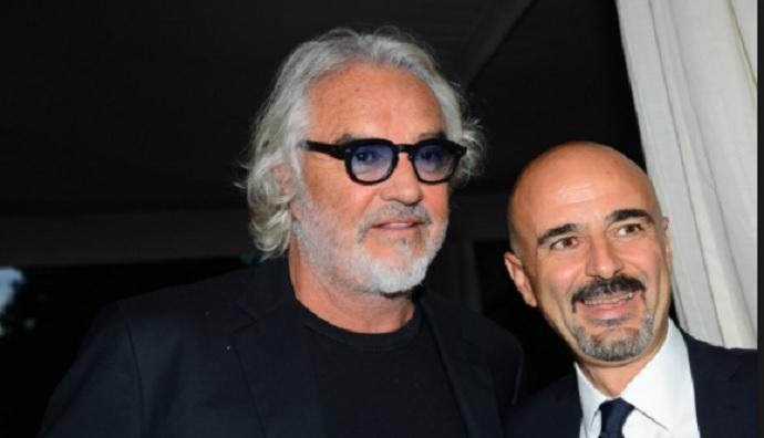 """Briatore se moja: """"Ferrari ya está al nivel de Mercedes"""""""