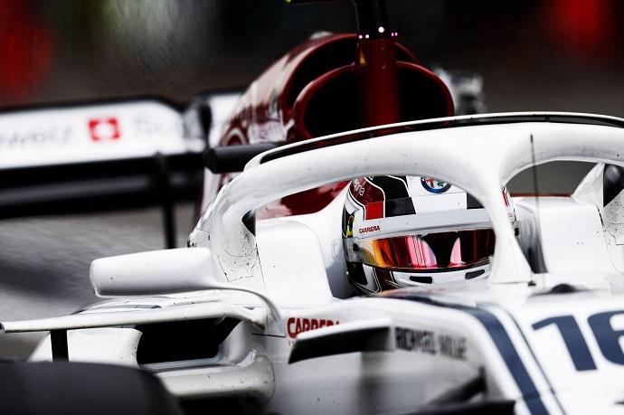 Charles Leclerc lidera a Sauber en la clasificación del Gran Premio de Azerbaiyán