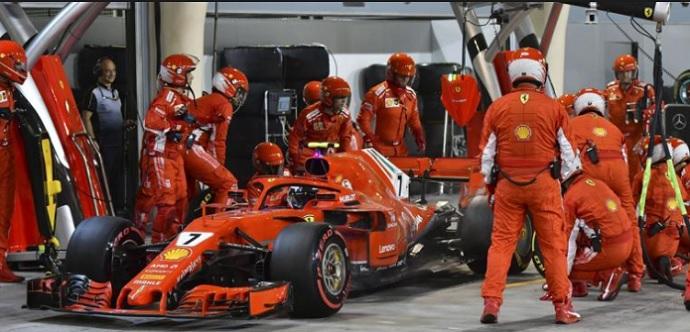 El fallo de un sensor provocó el incidente en boxes de Kimi