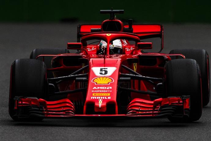 El Safety Car arrebata el primer puesto a Vettel